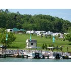 Bluff City: Lakeview RV Park in Bluff City from Boone Lake
