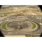 Irwindale: Arial View of Toyota Speedway during D-1 Drift Event