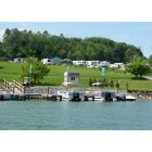 Bluff City: Lakeview RV Park in Bluff City, TN from Boone Lake