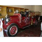 Seneca: 1922 Stutz fire truck, carefully restored to pristine condition by the Seneca Volunteer Fire Department