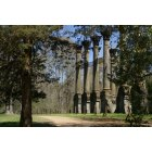 Vicksburg: Ruins of Winsor outside of Vicksburg Mississippi.
