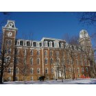 Fayetteville: The Old Main building of UARK was constructed between 1873 and 1875.