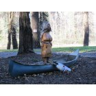 Troutdale: Tippy Canoe Wood Carving