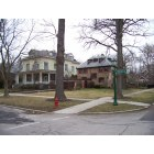 Wilmette: The corner of 7th Street and Forest Avenue