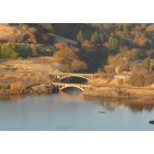 Lyle: Washington State Hwy 14 Arch Bridge at the Klickitat River confluence with the Columbia River