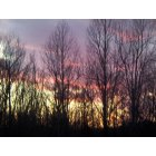 Craigsville: sunset at home