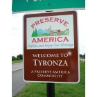 Tyronza: Tyronza is a Preserve America Community