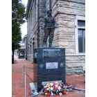 Grundy: Statue of Coal Miner on the corner of Walnut Street and Main Street by the Courthouse