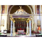 Beaumont: Interior of the Cathedral Basilica of St. Anthony