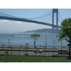 Brooklyn: view on the Verrazono Brige from Brooklyn