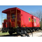 Tomball: Caboose at Tomball, Texas
