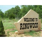 Ringwood: Welcome to Ringwood - sign