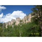 Spearfish: picture of Spearfish Cayon hill.