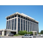 Waco: Central National Bank Tower on Bosque Blvd.