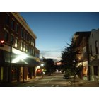 Martinsville: A shot of Uptown Martinsville In the Evening time Last year.