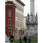 Lewistown: the square