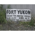 Fort Yukon: Arctic Circle Lat;Long