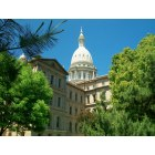 Lansing: Capitol of Lansing, Michigan