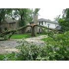 Wilmette: Aftermath of a lightning storm, August 2007