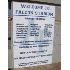 Air Force Academy: Welcome to the Air Force Academy stadium- here are the rules and regs