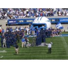 Air Force Academy: Waiting for Air Force Academy players to enter the field