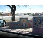 South Tucson: prolific labor-intensive tilework by the primarily hispanic population of south tucson.
