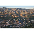 Boise: : Overlooking downtown Boise Idaho and into the Boise Foothills
