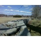 Waterford: Stone wall on daffodil Lane, Harkness State Park