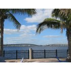Punta Gorda: : Charlotte Harbour and Hwy 41 bridges from the Sheraton Tiki Bar.