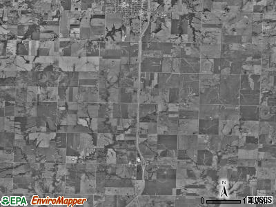Mound township, Missouri satellite photo by USGS