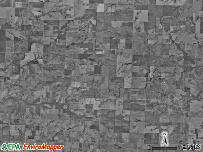 Summit township, Missouri satellite photo by USGS