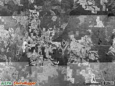 Red Colony township, Arkansas satellite photo by USGS