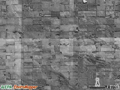 Crawford township, Nebraska satellite photo by USGS