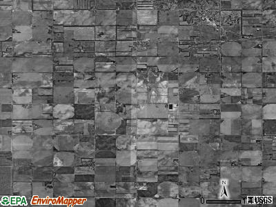 Royal township, Nebraska satellite photo by USGS