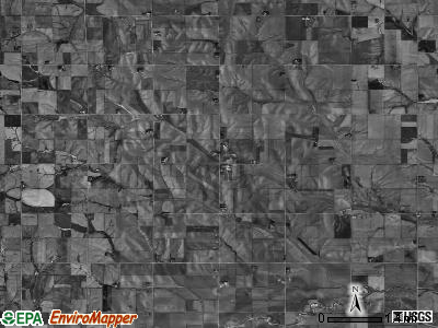 Pleasant Valley township, Nebraska satellite photo by USGS