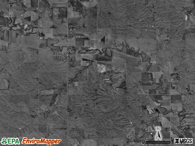 Armada township, Nebraska satellite photo by USGS