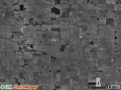 Laird township, Nebraska satellite photo by USGS