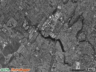 Clark township, New Jersey satellite photo by USGS