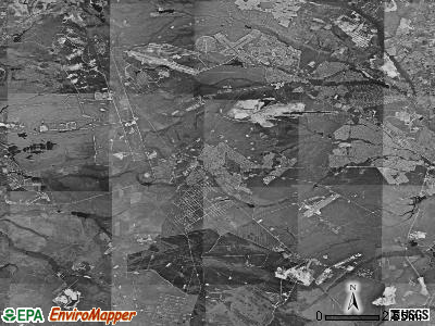 Manchester township, New Jersey satellite photo by USGS