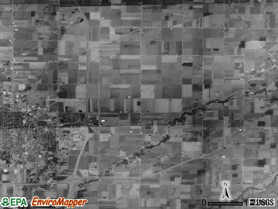 Center township, Ohio satellite photo by USGS