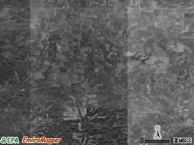 Paris township, Ohio satellite photo by USGS