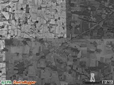 Hilliar township, Ohio satellite photo by USGS