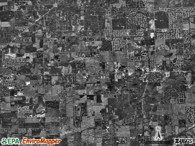 Homer township, Illinois satellite photo by USGS