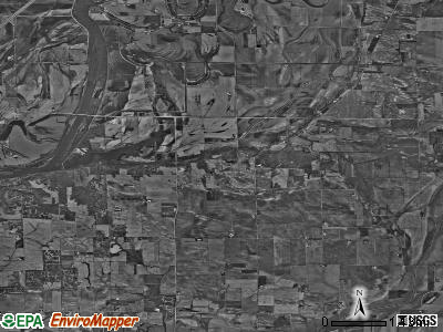Phenix township, Illinois satellite photo by USGS