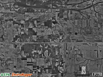 Edford township, Illinois satellite photo by USGS