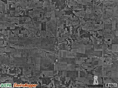Oxford township, Illinois satellite photo by USGS