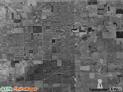 Milks Grove township, Illinois satellite photo by USGS