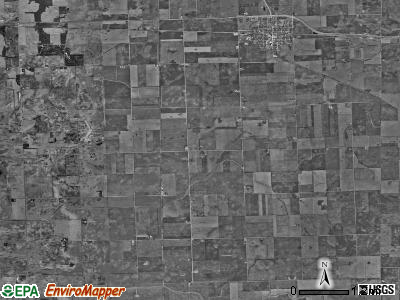 Sheldon township, Illinois satellite photo by USGS