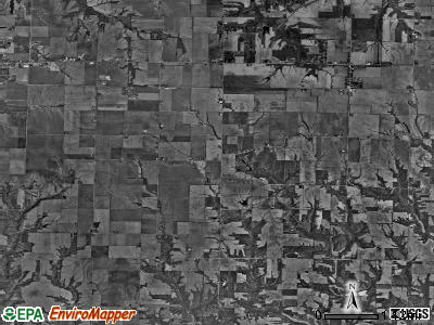 Trivoli township, Illinois satellite photo by USGS