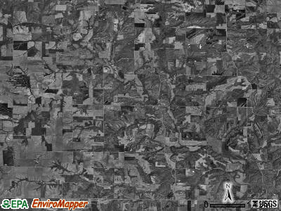 Columbus township, Illinois satellite photo by USGS